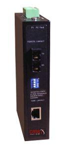 IMC-100FX Industrial 100Mbps Media Converter